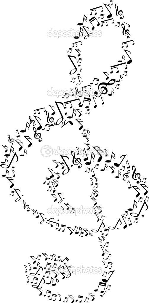 Music Note Symbol Stock Vector Huhulin 43026661