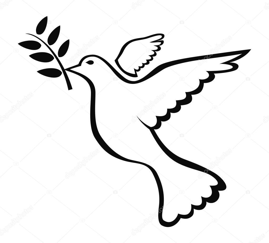 Peace dove symbol stock vector huhulin 45923107 peace dove symbol stock vector biocorpaavc Images
