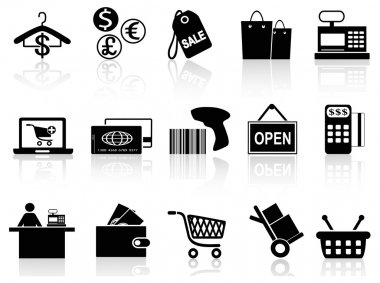 Black retail and shopping