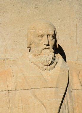 John Knox, reformation wall, Geneva, Switzerland.