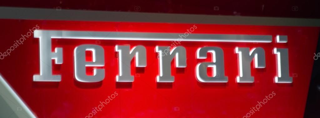 Ferrari Name Stock Editorial Photo Elenarts 43113123