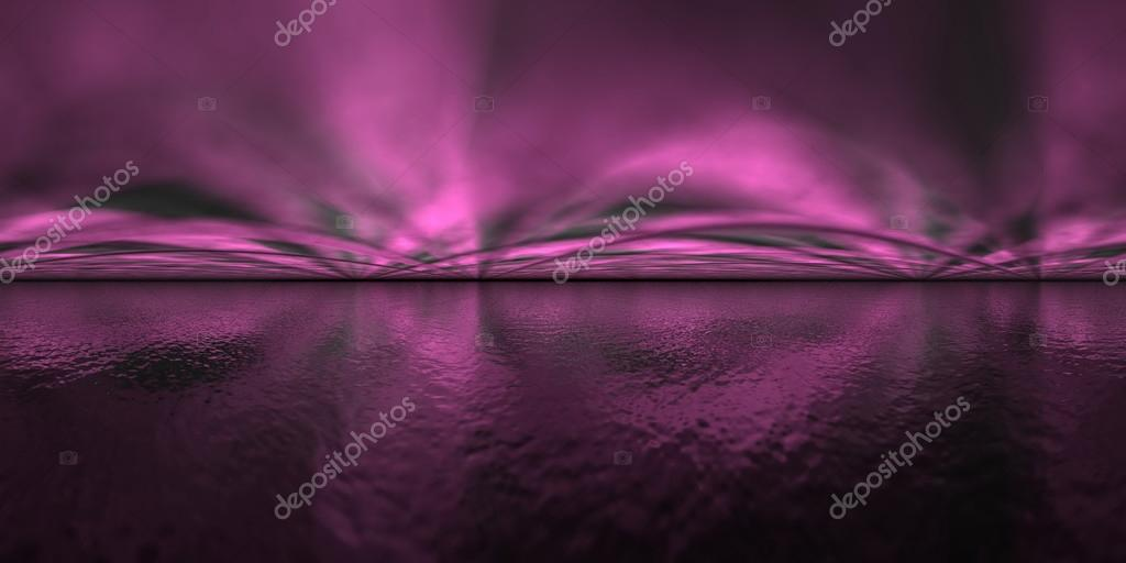 Aurora borealis - 3D render