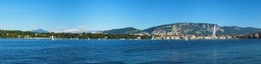Panoramic view of Geneva area, Switzerland