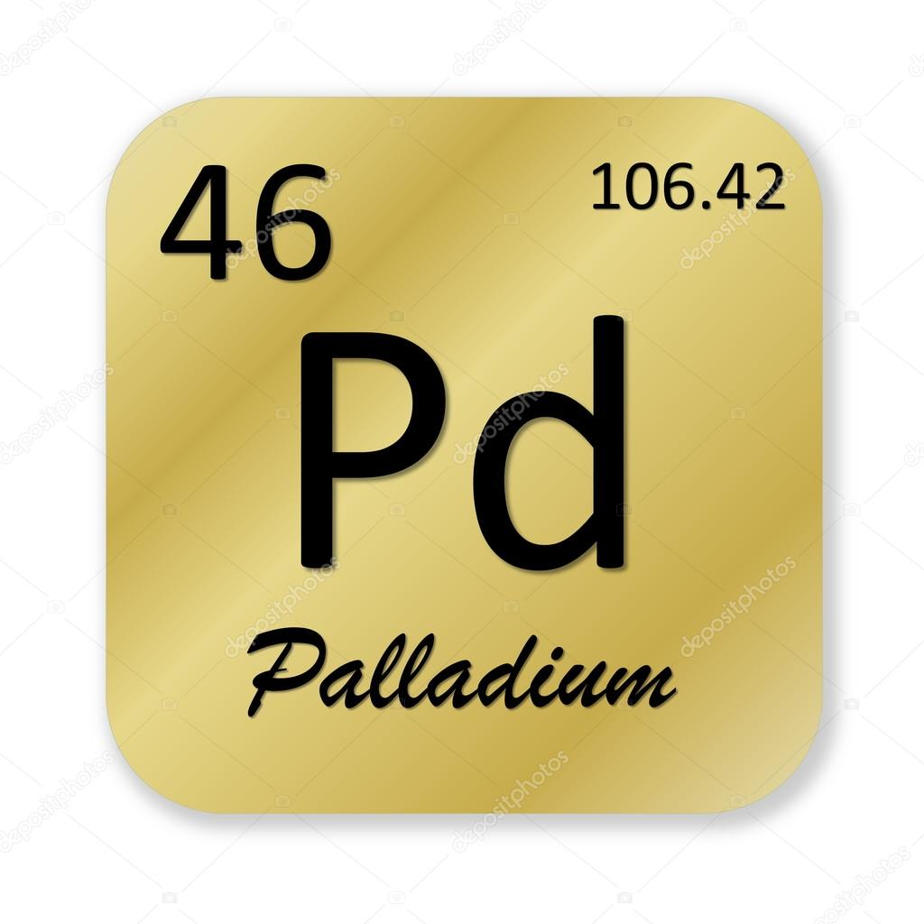 Palladium Element Stock Photo Elenarts 47911167