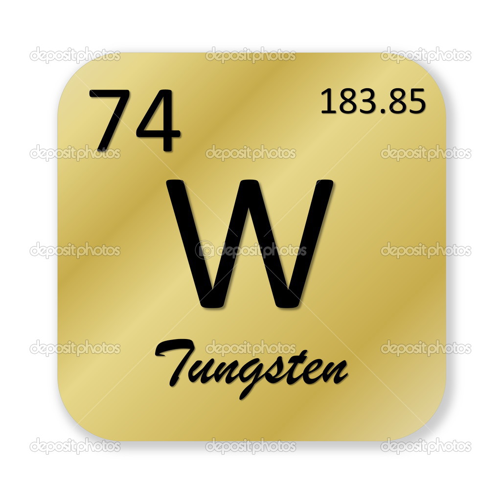 Tungsten Element Stock Photo Elenarts 48576257