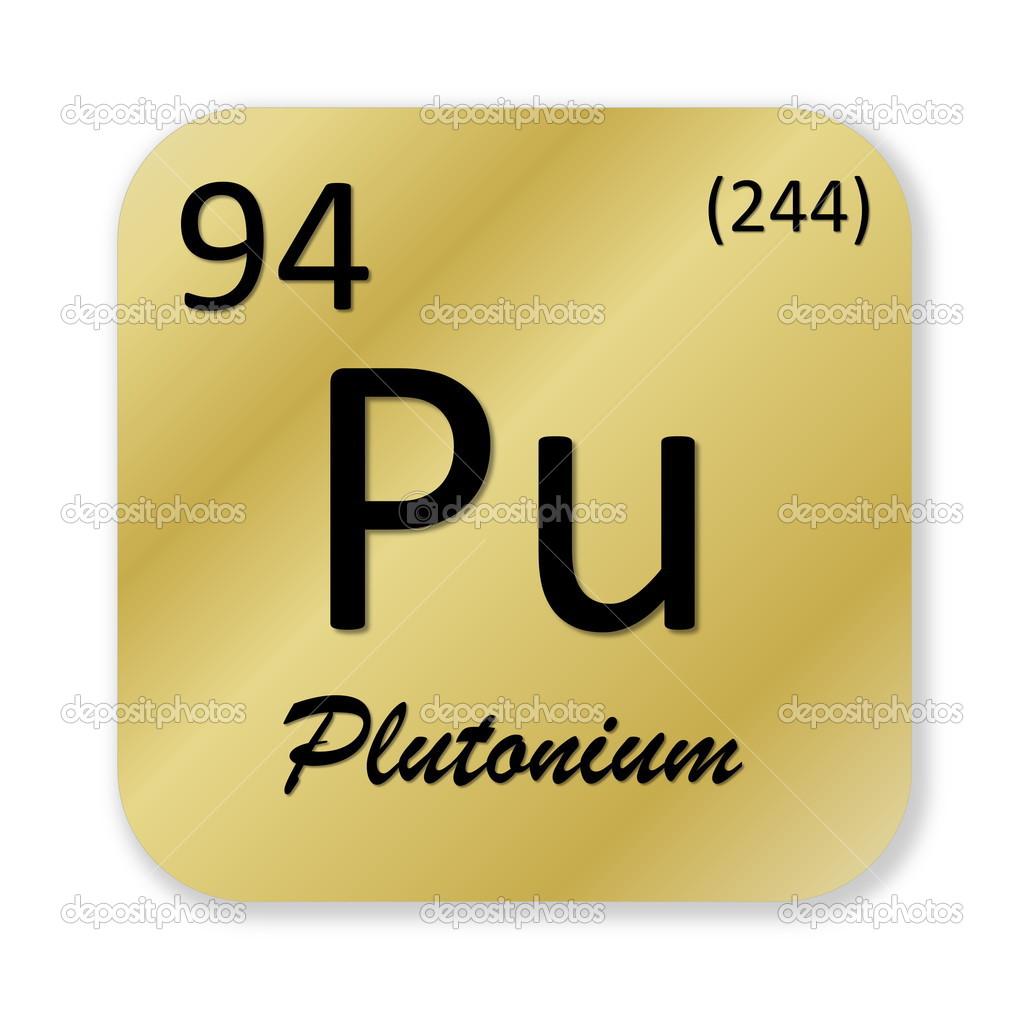 Plutonium element stock photo elenarts 50558915 black plutonium element into golden square shape isolated in white background photo by elenarts biocorpaavc Image collections