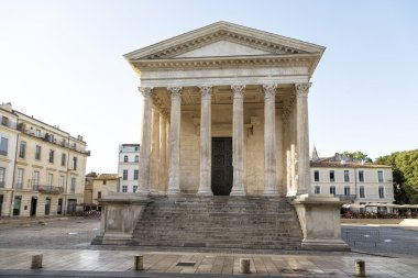 Maison Carree in Nimes, southern of France