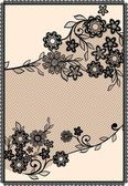 Sample cards, lace
