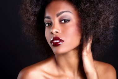 Beautiful African American Black Woman