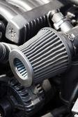 Photo Supercharged car engine