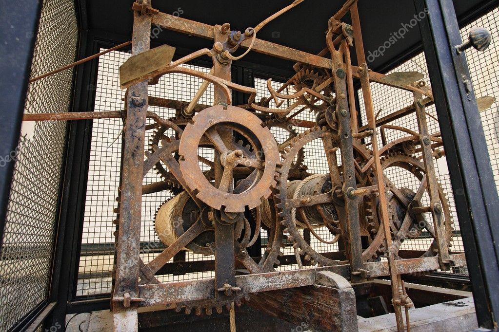 Механизм башенных часов купить часы наручные мужские seiko 5 automatic