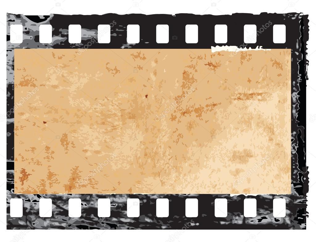 Grunge Camera Vector : Grunge filmstrip frame u stock vector halina photo