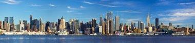 """Картина, постер, плакат, фотообои """"панорама нью-йорка """", артикул 19954467"""