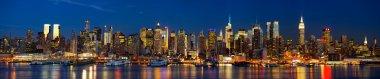Night lights of New York
