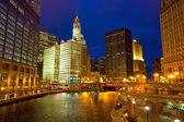 passeggiata del fiume Chicago