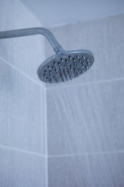 Shower head with water stream