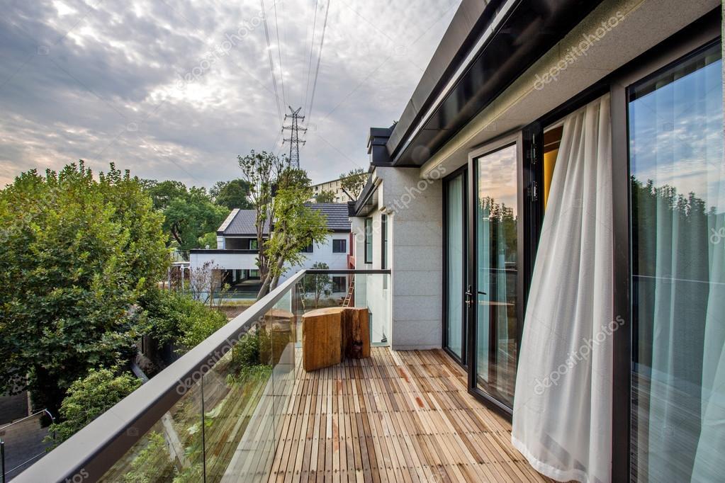 Terraza De Edificio Moderno Foto De Stock Zhudifeng