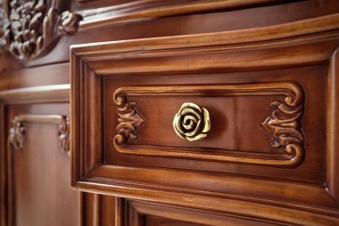 Crafted wood furniture