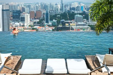 Infinity pool of Marina Bay Sands