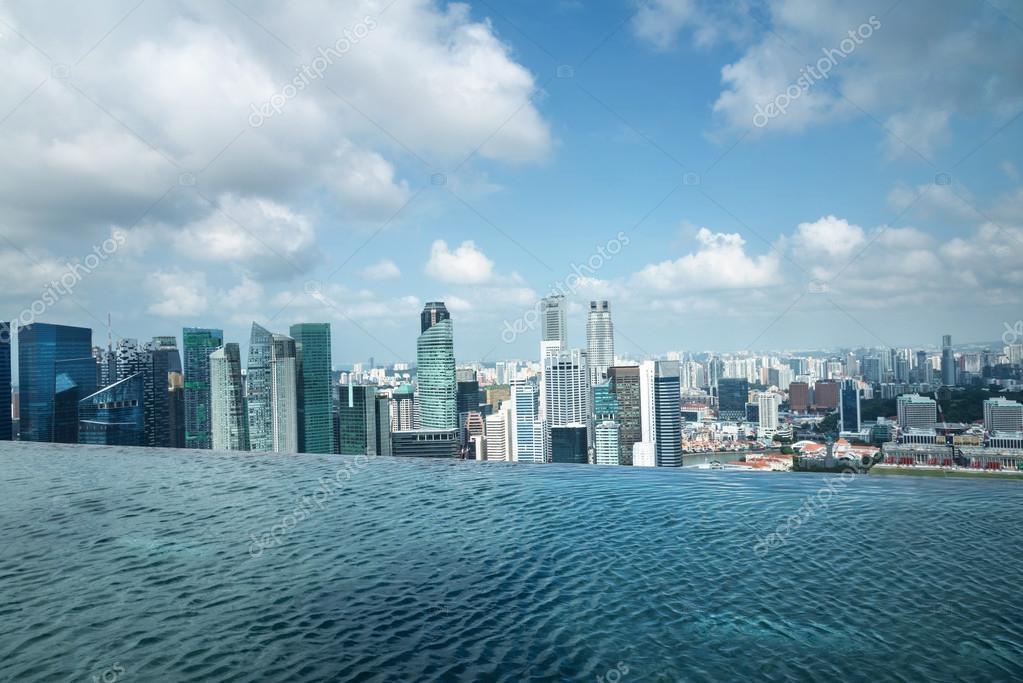 Singapur Schwimmbad
