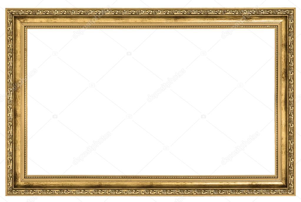 großer goldener Rahmen — Stockfoto © yoka66 #20427893