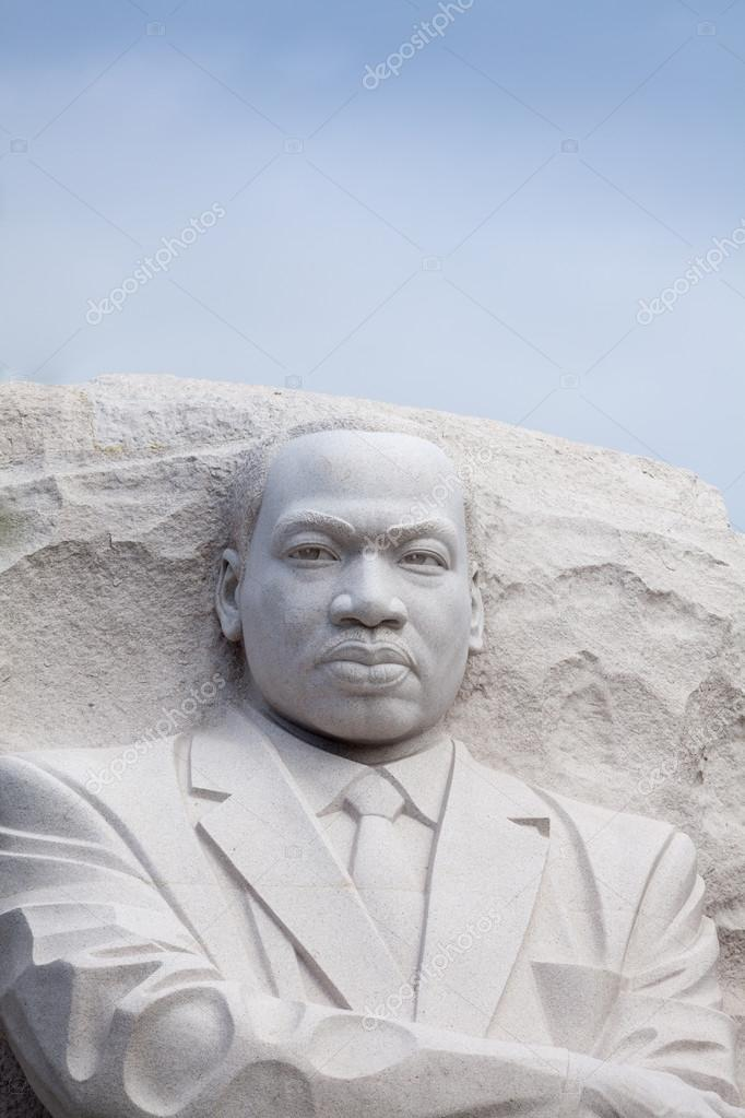 Martin Luther King Jr Monument In Washington Dc Stock Editorial