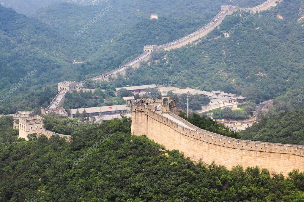 Badaling great wall,crossroad town