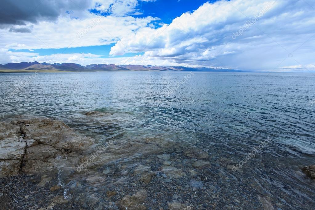 Beautiful lake namtso