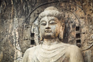 locana buddha statue closeup