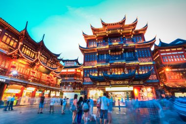 shanghai yuyuan garden