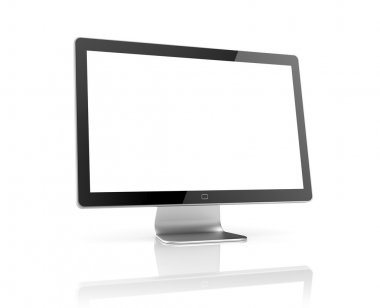 Computer Monitor with reflection