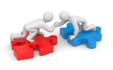 Partnership. Helping hand