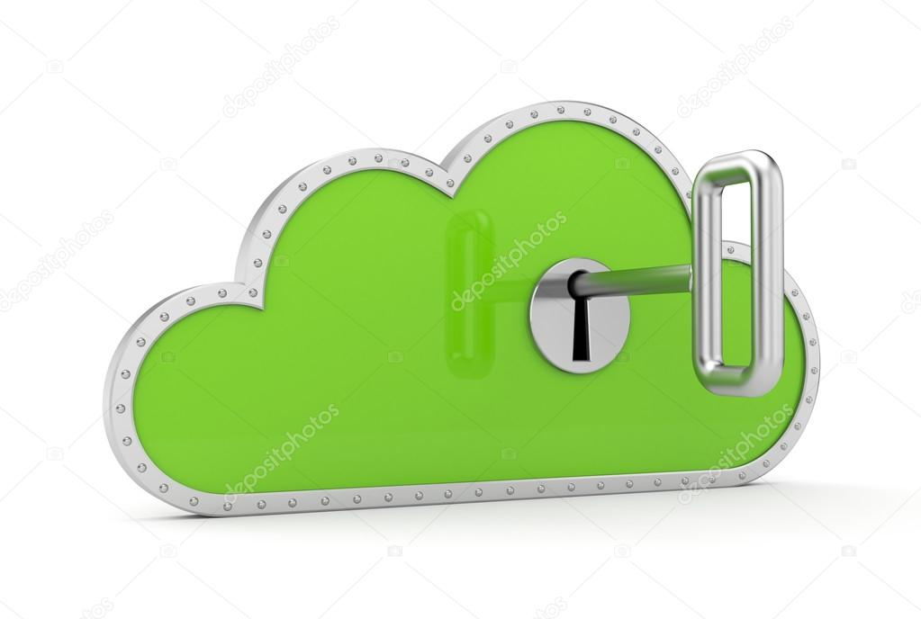 Cloud and key — Stock Photo © Pixelery com #39193007