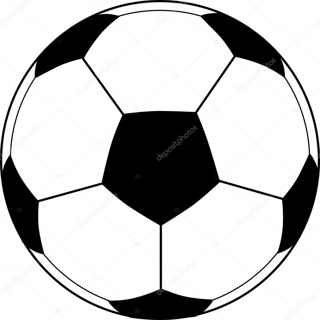 soccer ball vector stock vector photos 22472367 rh depositphotos com soccer ball vector art free soccer ball vector free download