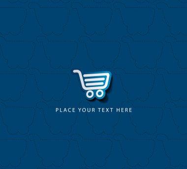 Vector shopping cart item