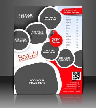 Vector business brochure, flyer, magazine cover & poster template clip art vector