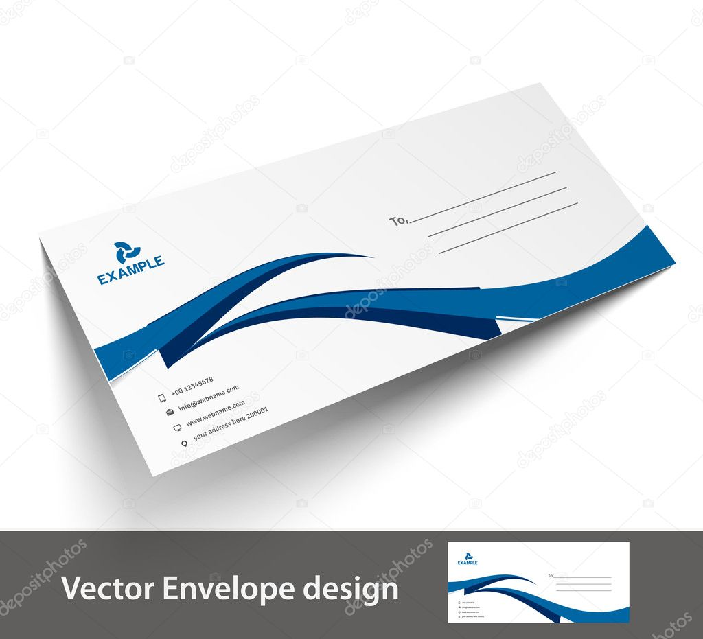 Paper envelope templates for your project design vector paper envelope templates for your project design vector illustration stock vector maxwellsz