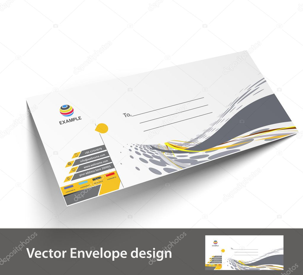 Paper envelope templates for your project design vector paper envelope templates for your project design vector illustration stock vector spiritdancerdesigns Choice Image