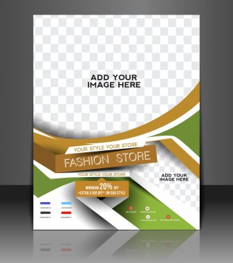 Fashion store Flyer & Poster Cover Template