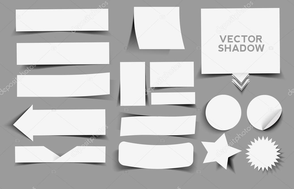 Collection vector shadow design