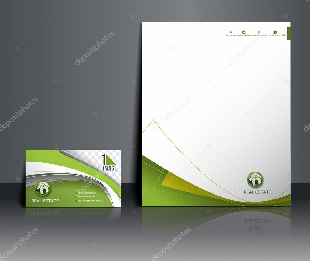 Real Estate Agent Corporate Identity Template