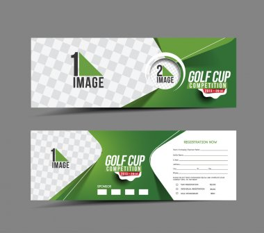 Golf Cup Banner