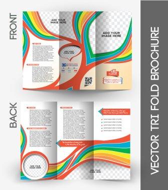 Kid's School Tri-Fold Brochure