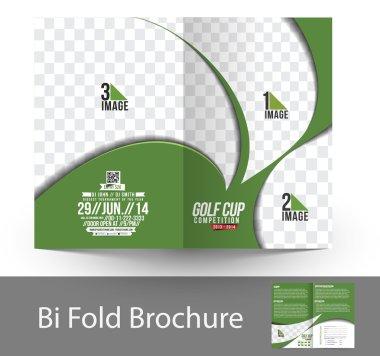 Golf Tournament Bi-Fold Brochure
