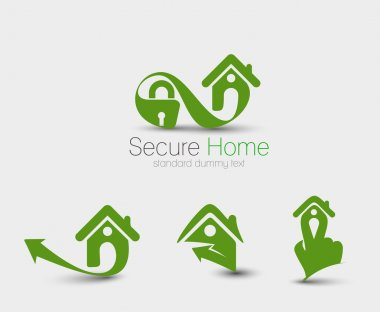 Home Security Icon Set