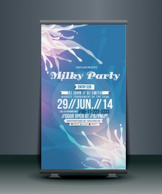 Corporate Business Roll Up Banner Design