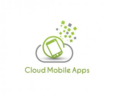 Symbol of Cloud Mobile Apps
