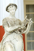 Photo Statue of a Muse Terpsichore