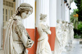 Photo Column of Muses in Achillion palace