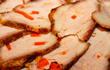Sliced baked ham